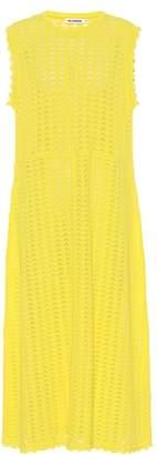 Jil Sander Crochet cotton dress