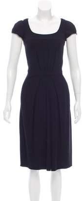 Armani Collezioni Knit Midi Dress
