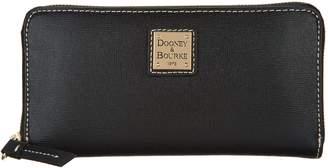 Dooney & Bourke Saffiano Leather Zip- Around Wallet