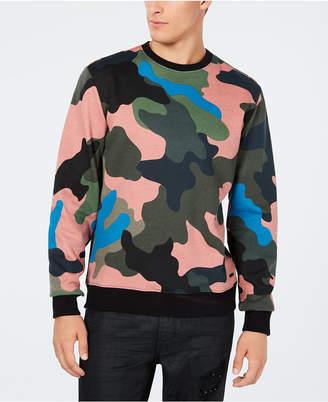 GUESS Men's Alameda Camouflage Sweatshirt
