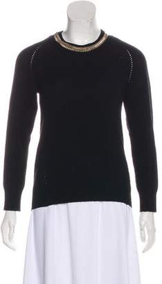 Burberry Wool & Cashmere Knit Sweater