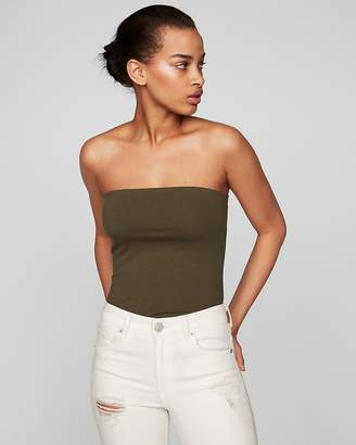 Express One Eleven Shelf Bra Tube Top