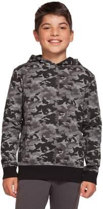 Dex Boy's Camouflage-Print Cotton-Blend Hoodie
