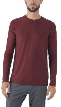 Russell Big Men's Long Sleeve Performance Crew Neck Top