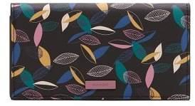 MANGO Leaves print wallet