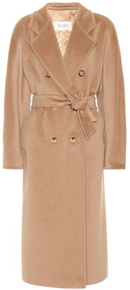 Max Mara (マックス マーラ) - Max Mara Madame wool and cashmere-blend coat