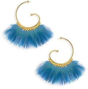 Gas Bijoux Buzios Feather Curl Earrings