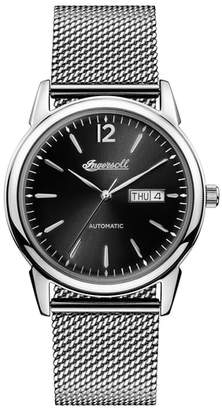 Ingersoll WATCHES New Haven Automatic Mesh Strap Watch, 40mm