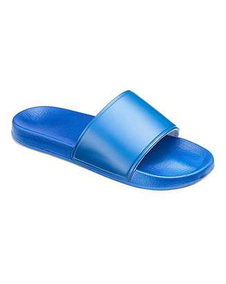 Blue Pool Slide Wide Fit