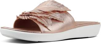 FitFlop Feather Sola Leather Slides