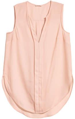 H&M V-neck Blouse - Orange