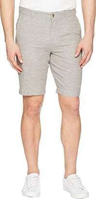 Ben Sherman Men's Tonic Linen SLUB Short