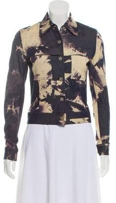 Celine Denim Tie-Dye Jacket