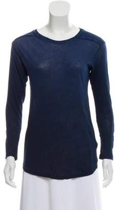 Raquel Allegra Long Sleeve Crewneck T Shirt