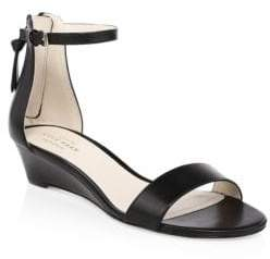 Cole Haan Adderly Leather Ankle Strap Sandals