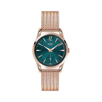 Henry London - Ladies 30mm Stratford Stainless Steel Bracelet Watch