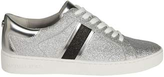 Michael Kors Keaton Striped Glitter Sneakers