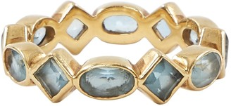 Temple St. Clair Blue Yellow gold Ring
