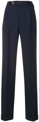 Gucci high-waist straight-leg trousers