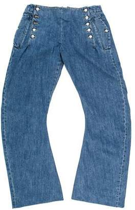 John Galliano Low-Waisted Flared Jeans