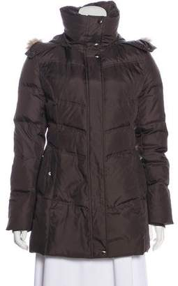 Andrew Marc Short Fur Down Coat