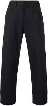 Y-3 herringbone tailored trousers