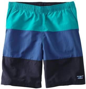 """L.L. Bean L.L.Bean Men's Classic Supplex Sport Shorts, Colorblock 9"""""""