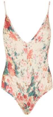 Zimmermann Laelia Floral Swimsuit