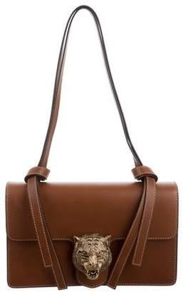 Gucci 2016 Leather Animalier Shoulder Bag