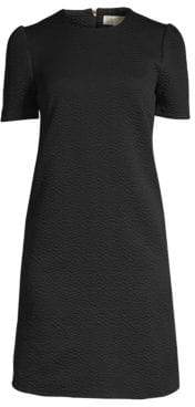 MICHAEL Michael Kors Textured Princess Sleeve A-line Dress