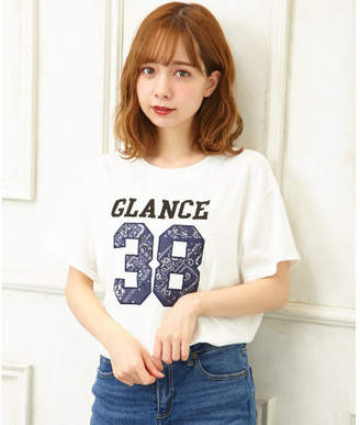 INGNI (イング) - INGNI 柄ナンバーリングTシャツ