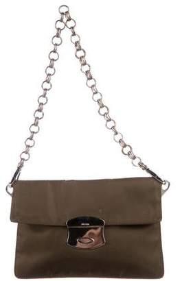 Prada Mini Tessuto Flap Bag