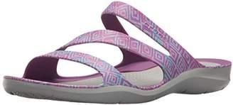 Crocs Women's Swiftwater Graphic Sandal W Sport