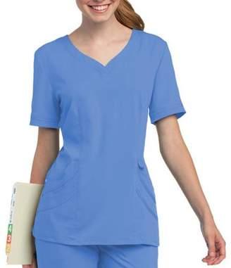 Chloé Landau Uniforms Urbane by Landau Women's Sweetheart-Neck Scrub Top