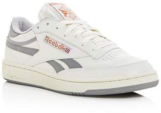 Reebok Men's Club C Revenge Leather Low-Top Sneakers