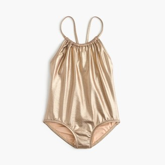 Girls' metallic one-piece swimsuit $59.50 thestylecure.com