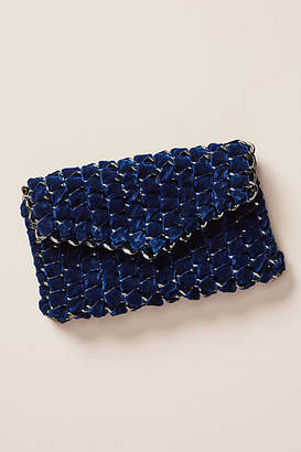 Tambonita Eve Velvet Chain Clutch