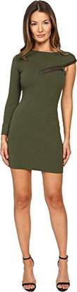 DSQUARED2 Women's Wool Jersey Dress