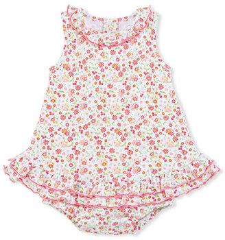 Kissy Kissy Pixie Flowers Sleeveless Play Dress, Red/White, Size 3-18 Months $42 thestylecure.com