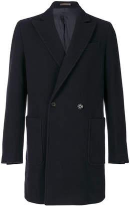 Eleventy double-breasted midi coat