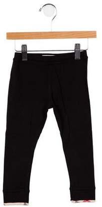 Burberry Girls' Nova Check Knit Leggings