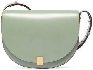 Victoria Beckham Half Moon Box Smooth-leather Shoulder Bag