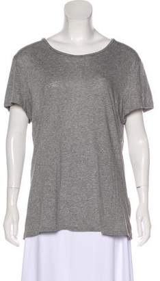 Acne Studios Short Sleeve Scoop-Neck Top