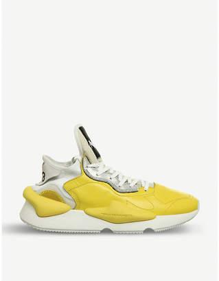 adidas Y3 Kawa leather trainers