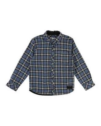 Little Marc Jacobs Long-Sleeve Flannel Shirt, Size 4-5