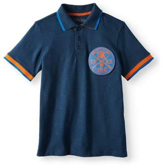 Cherokee Boys' Rib Collar Polo