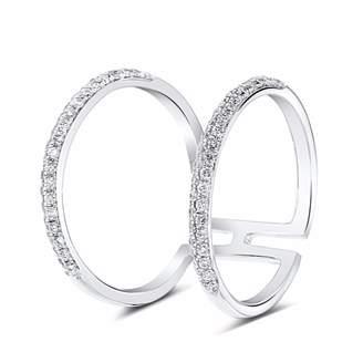 Chloé Cosanuova Diamond Ring 18k White Gold