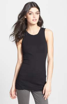 James Perse Crewneck Long Rib Tank