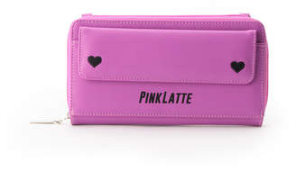PINK-latte (ピンク ラテ) - ピンクラテ ダブル・ミニハートお財布ショルダー