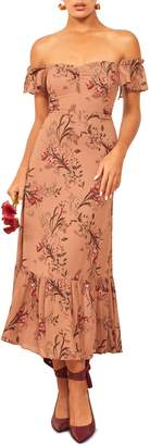 Reformation Butterfly Midi Dress